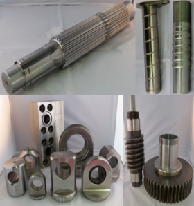 Products manufactured - Machining MRN
